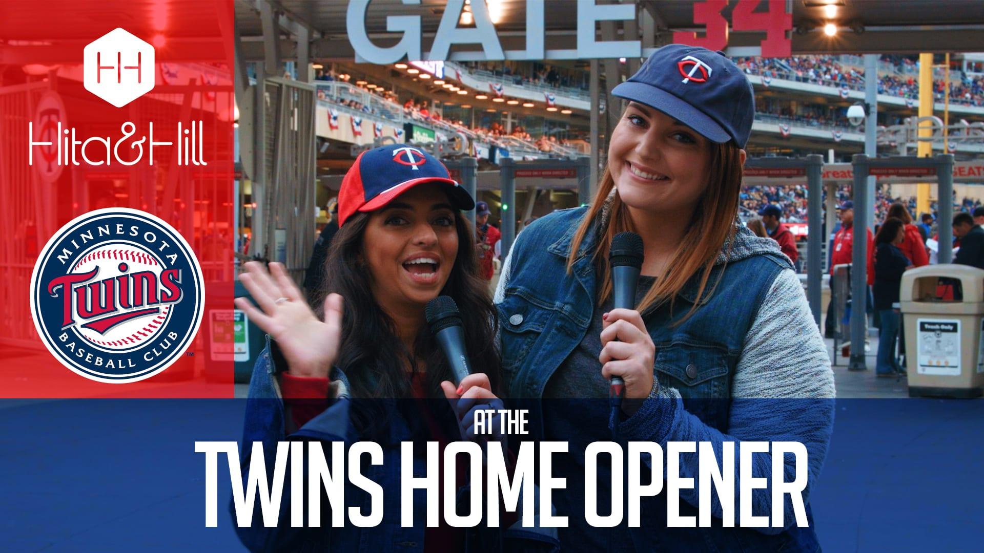 Hita & Hill – Twins Home Opener